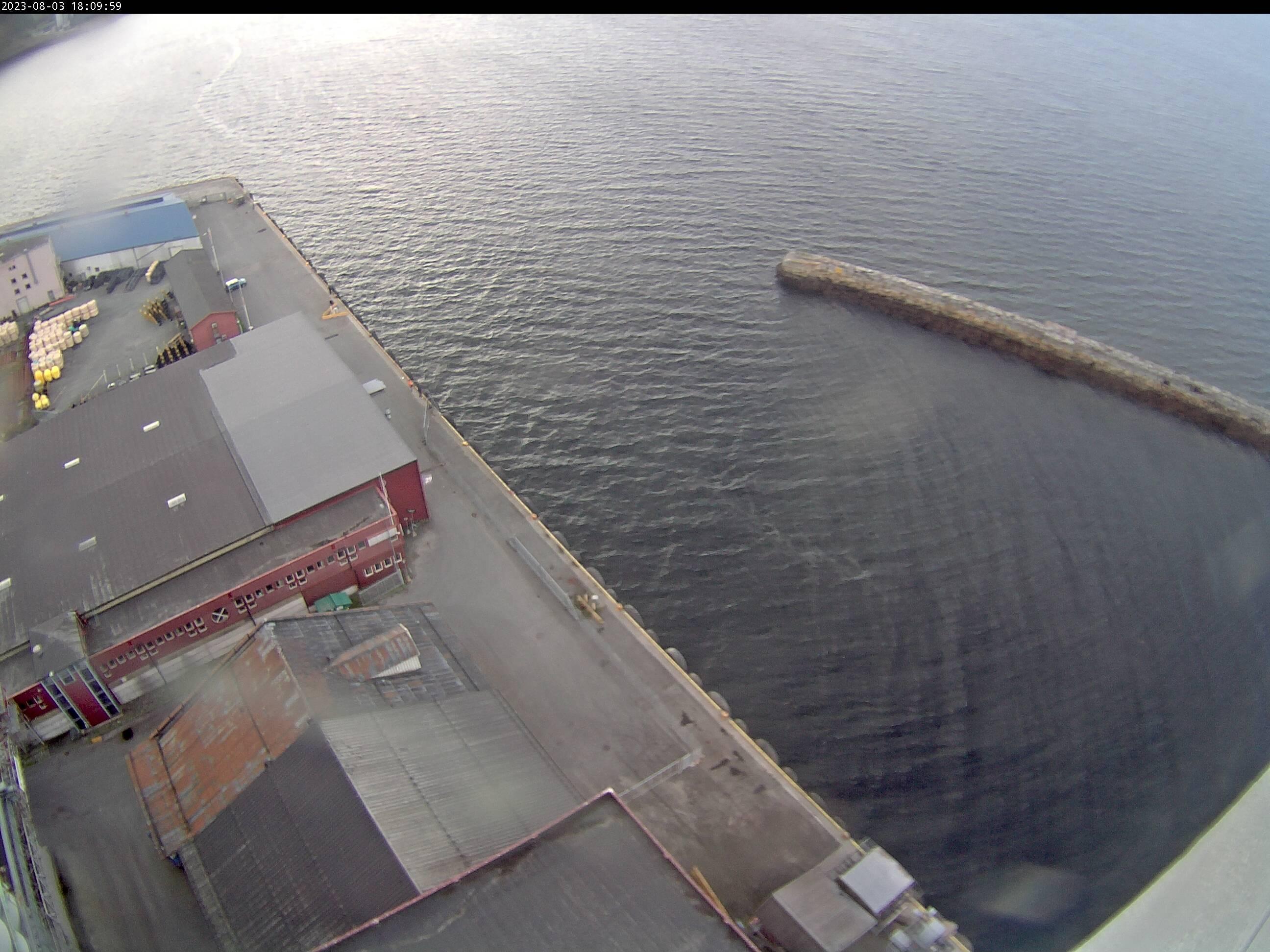 Trondheim - harbour; Ila pier