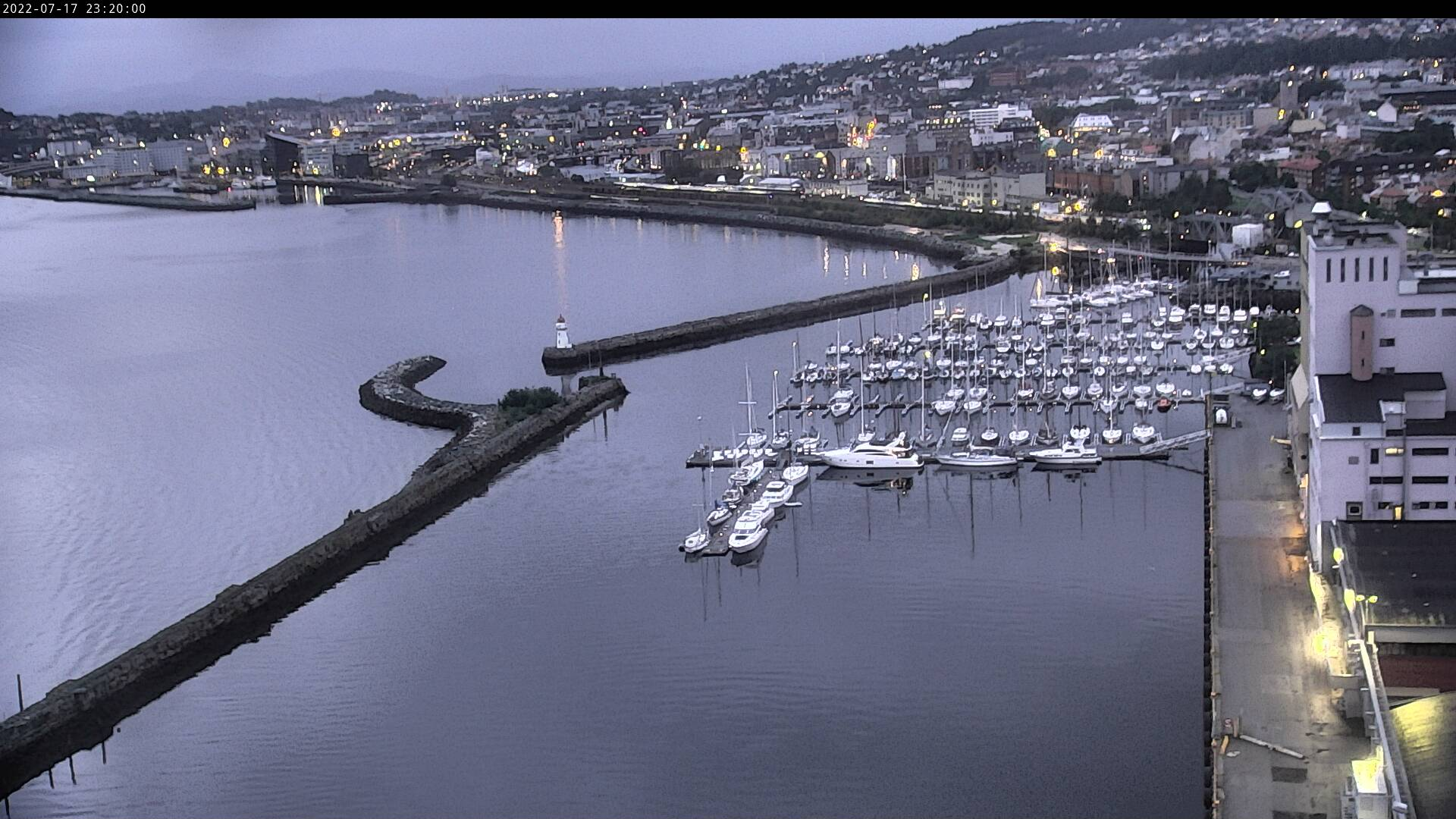 Trondheim, Skansen småbåthavn