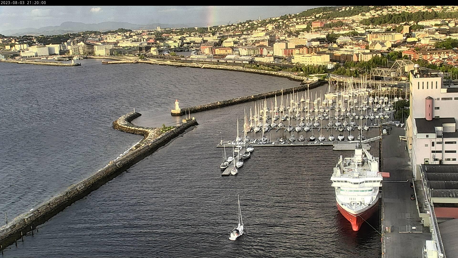 Trondheim - havn; Skansen småbåthavn