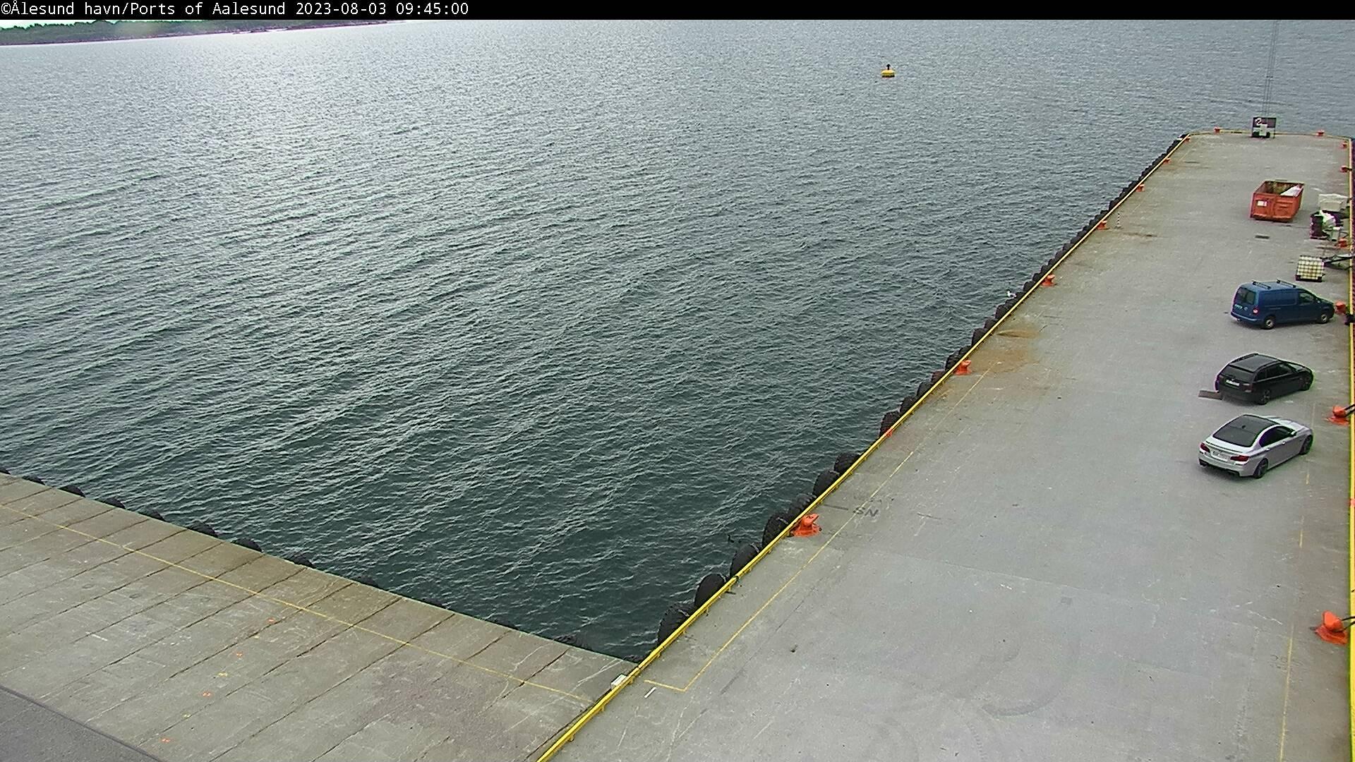 Vigra - Gjøsund; pierkade 1