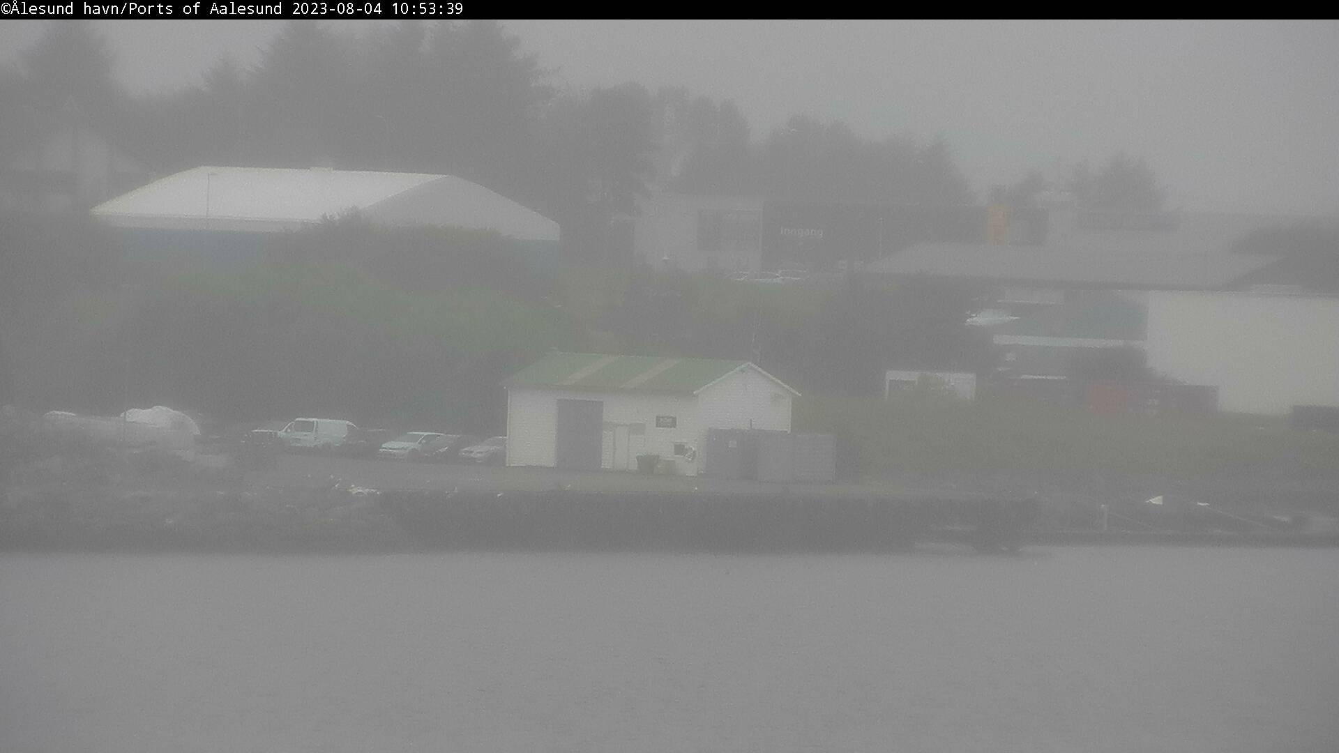 Webcam Gjøsundet havneanlegg, Giske, Møre og Romsdal, Norwegen