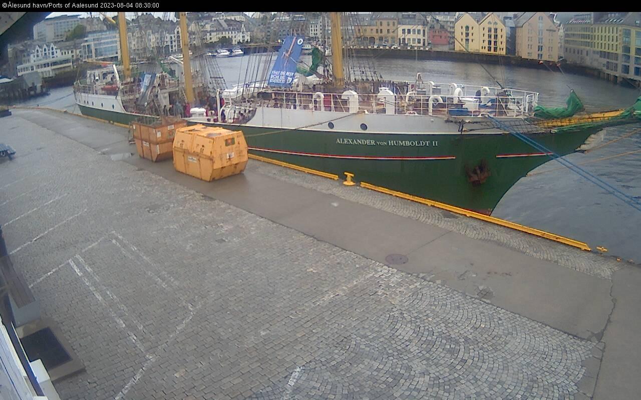 Ålesund - haven; noord; Skansekade
