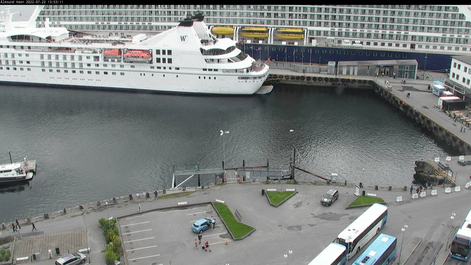 Ålesund - haven; zuid; Langevågsboot