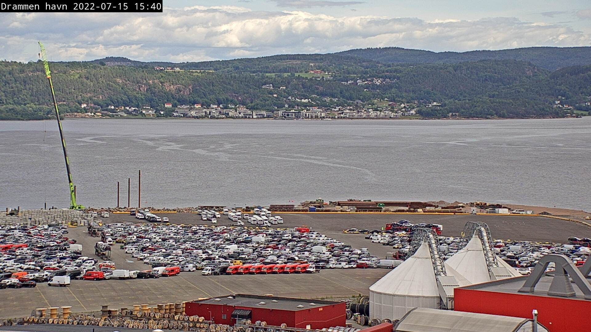 Webkamera Drammen havn